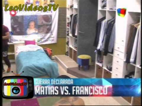 Matias Vs Francisco Guerra de Bromas pesadas GH 2015 #GH2015 #GranHermano