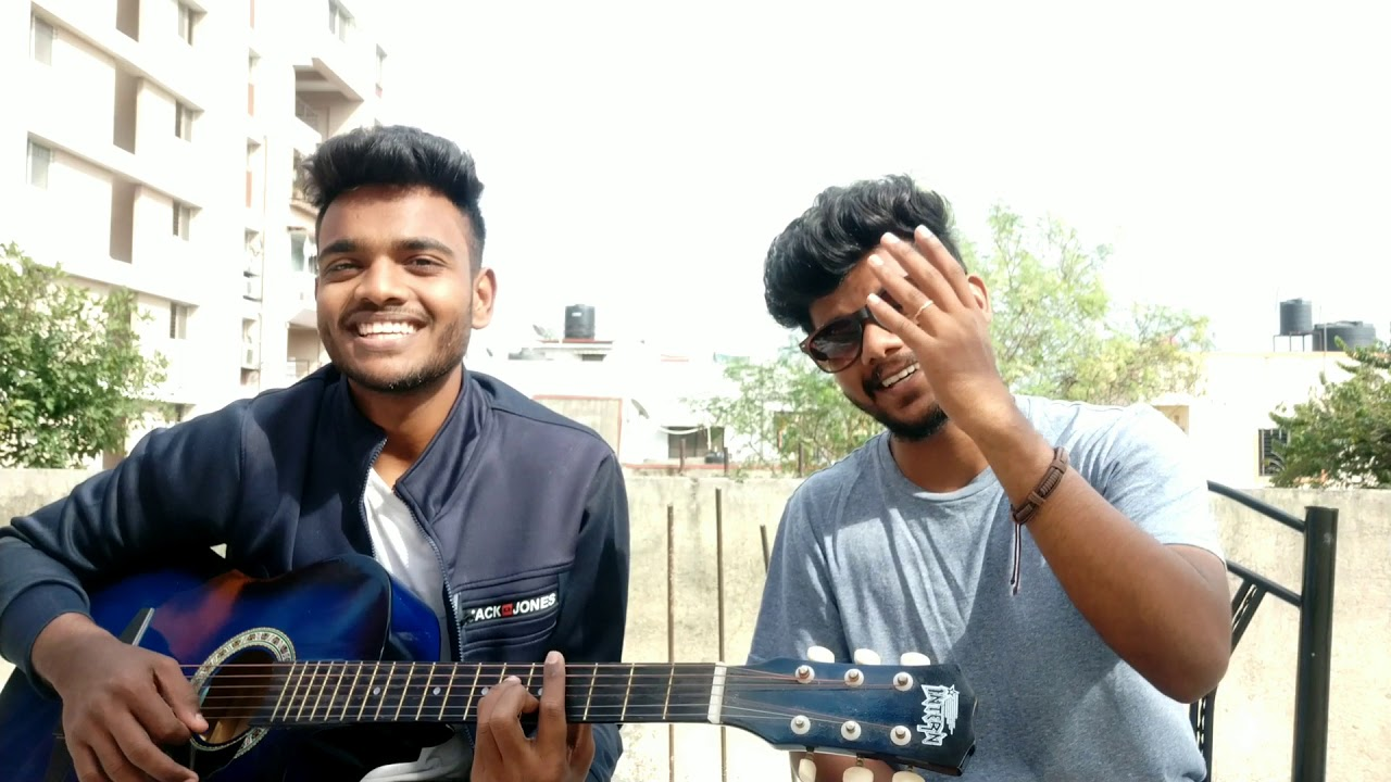 Hollywood & Bollywood mashup Songs Acoustic Guitar Cover by Sajan Rohan
