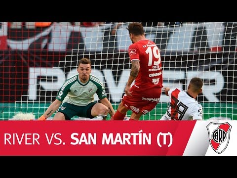 Así se vivió River vs. San Martín (T)