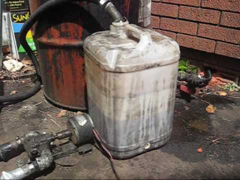 How To Pump Waste Vegetable Oil.