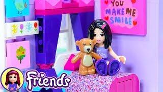 Lego Friends Little Emma's Toddler Room - Girls Bedroom Renovation Custom DIY Craft