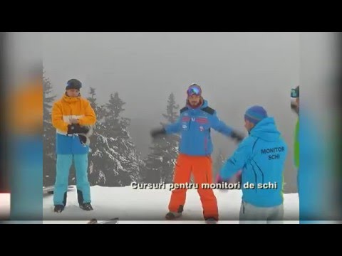 Cursuri pentru monitori de schi