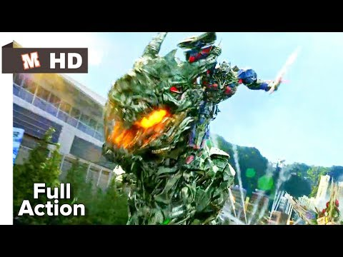 Transformers 4 Age of Extinction Hindi Final Battle
