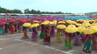 Surendranagar India  city images : TARNETAR FAIR 2016 LARGEST UMBRELLA DANCE ATTEMPT