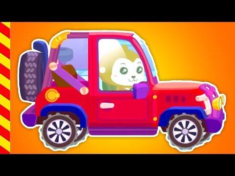 Машинки детям. Автомастерская. Чиним машинки мультики. Машина игры. Мультик про машину.
