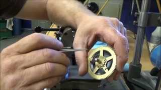 making a new ratchet wheel click for a clock