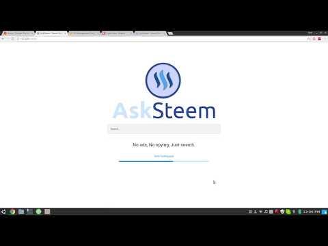 AskSteem Demo - Thời lượng: 4 phút, 5 giây.