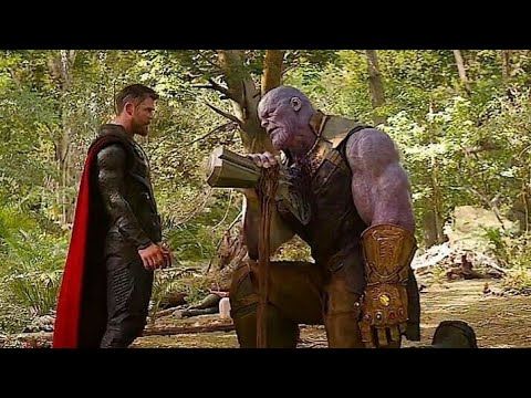 Thor vs Thanos.. ... Infinity war...Thor Ragnarok theme song