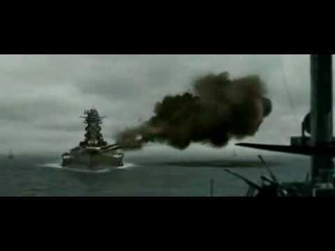 """Video. Clip de la película """"Otoko – Tachi no Yamato"""". Aviación vs. acorazado"""