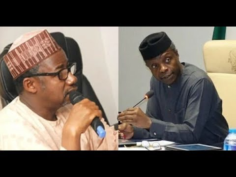 I am not part of those plotting to unseat Osinbajo - Ex-minister Mohammed