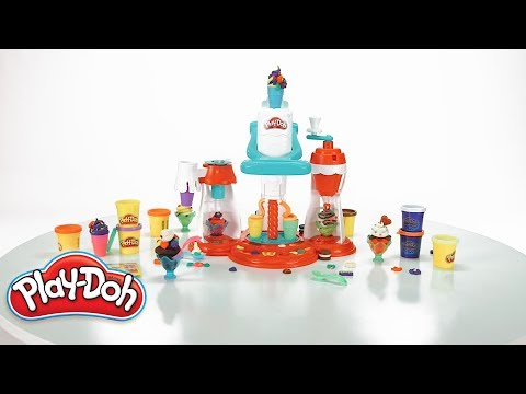 Play doh - Hasbro Brasil - Vídeo 360° Play-Doh Conjunto Supermaquina de Sorvete - E1935