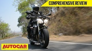 9. 2014 Triumph Street Triple | Comprehensive India Roadtest And Review | Autocar India