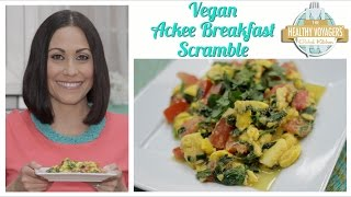 Vegan Ackee Breakfast Scramble