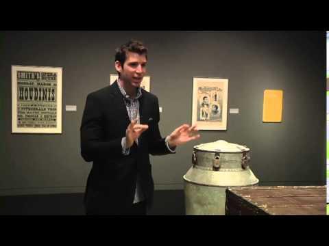 "Joshua Jay Takes You Inside ""Houdini Art and Magic"" Exhibit"