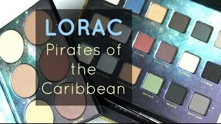 """Swatches of LORAC's Pirates of the Caribbean collection!Purchase at http://bit.ly/2qkvRQFBLOG SALE: http://bit.ly/1dGiNtFhttp://www.allurabeauty.comPaula's Choice (best skincare): http://goo.gl/r9cy4o Ebates cash-back: http://bit.ly/1kQ83tMhttp://www.allurabeauty.comTwitter: http://twitter.com/allurabeautyFacebook: http://www.facebook.com/allurabeautyPinterest: http://pinterest.com/allurabeauty/All links are provided for your convenience.  If there is a """"*"""" next to the link, it is an affiliate link."""
