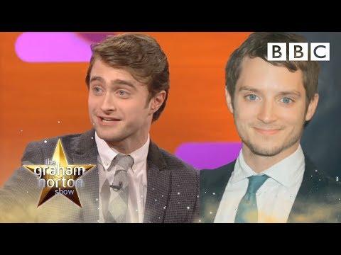 Daniel Radcliffe a dvojníci postav z Harryho Pottera