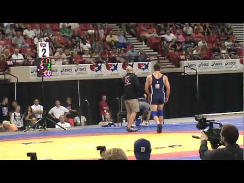 FS 84kg Final Match 2 - Cael Sanderson vs. Jake Herbert