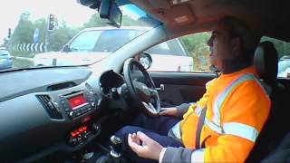 2011 KIA SPORTAGE 2.0 DIESEL ROAD TEST (Not Top Gear) EXCLUSIVE. - THE UK CAR REVIEWS Funny
