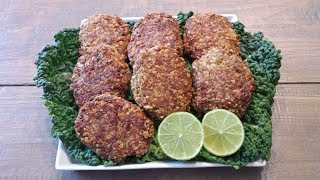 Healthy Tuna Patties (Eat Lean Protein) Tutorial.Please watch the full video for ingredient list & and detailedStep by step instructions.