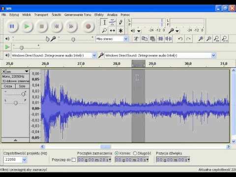 Smoleńsk, film 1:24 - wstępne przetwarzanie ścieżki dźwiękowej