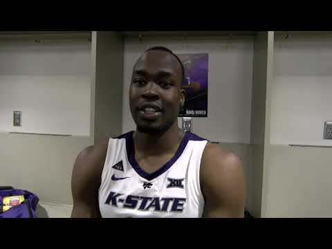 B12 Tournament: Mak Mawein After K-State vs TCU