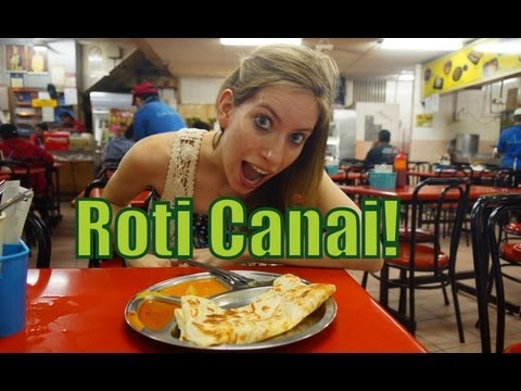 VIDEO: Eating Roti Canai