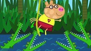 Peppa Pig Português Brasil  AULA DE GINÁSTICA  Peppa Pig
