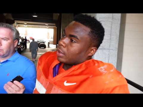 Grady Jarrett Interview 3/31/2014 video.