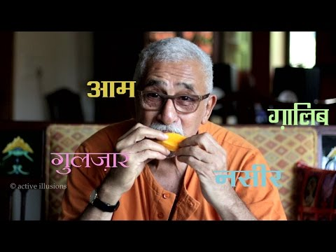 Download Naseeruddin Shah (informal) on Gulzar's Mirza Ghalib in Urdu Studio with Manish Gupta HD Mp4 3GP Video and MP3