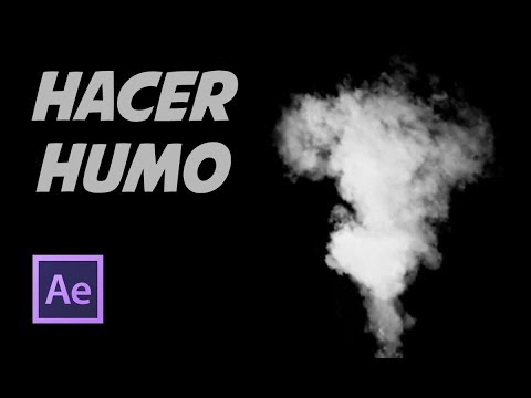 Tutorial After Effects Hacer Humo Realista (smoke) Con CC Particle World Español