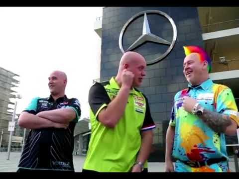 Michael Van Gerwen Sonning Peter Wright And Rob Cross - 2018 PDC Premier League