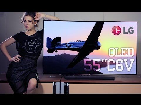 Видео Телевизор LED LG OLED55C6V