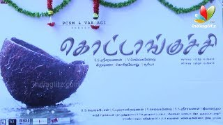 Kottankuchi tamil movie Launch | Perarasu,RV Udhayakumar, RK Selvamani | Tamil film 2014