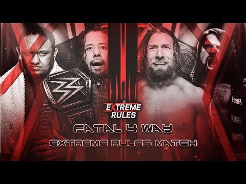 Extreme Rules 2018 Predictions Match Card