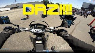 4. FIRST SUPERMOTO RIDE 2016 DR-Z400SM!!!!