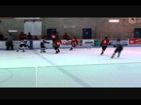 Bantam AAA Hockey Tournament Laval Montreal Quebec Game 1-2.wmv