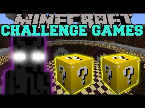Minecraft: ENDER LORD CHALLENGE GAMES - Lucky Block Mod - Modded Mini-Game