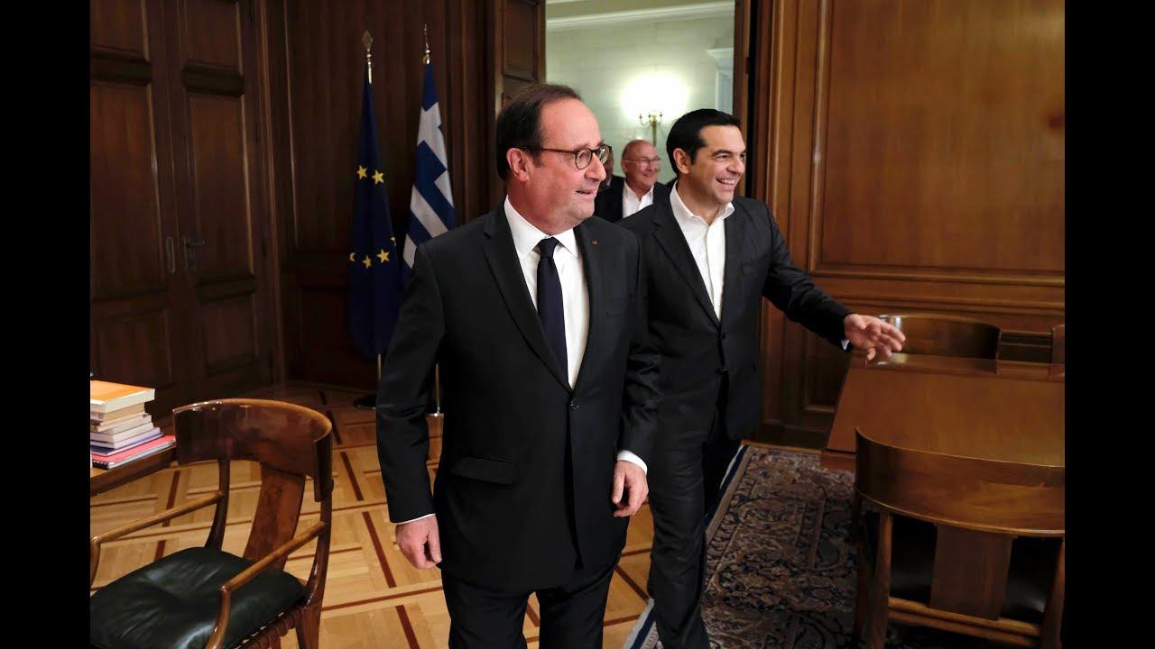 Συνάντηση με τον πρώην Πρόεδρο της Γαλλικής Δημοκρατίας κ. Φρανσουά Ολάντ
