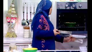 علي قد الايد xx نجلاء الشرشابي ## عمل : طاجن ارز معمر باللحمة - كنافة بقمر الدين - باذنجان بالجبنة