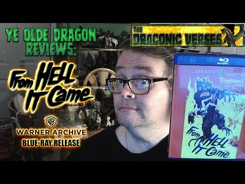Ye Olde Dragon Reviews: Warner Archives' Blu-Ray Release Of FROM HELL IT CAME (1957)