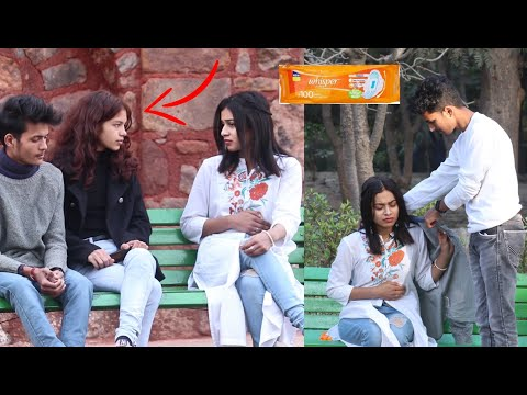 Periods prank on boy vs girl | Social experiment in India | Its Baba