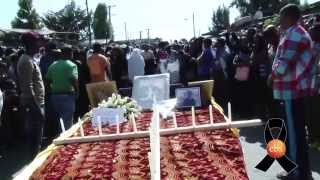 Ethiopian families mourn thier loved ones killed by ISIS - EBS Special Report
