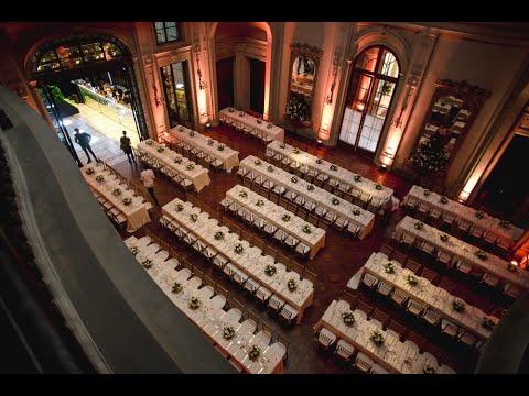 Destination Wedding Cami & Paul en Palacio Sans Souci