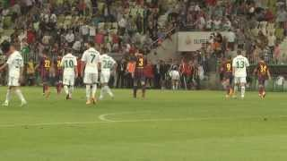 Video Lechia Gdańsk - FC Barcelona. Kulisy meczu MP3, 3GP, MP4, WEBM, AVI, FLV Juni 2018