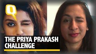 Video Can You Wink Like Priya Prakash Varrier? Take the Challenge! | The Quint MP3, 3GP, MP4, WEBM, AVI, FLV Maret 2018
