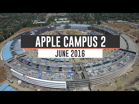APPLE CAMPUS June 2nd 2016 Construction Update