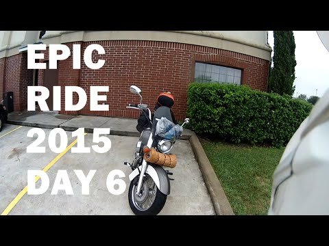 Co2 Much? The Smog Highway! - Epic Ride 2015 - S02E06 - Good Motorcycle Morning