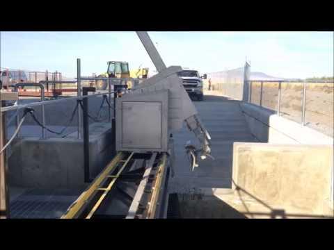 New Hydro Component Systems Trash Rake at the Esquatzel Plant in Eastern, WA