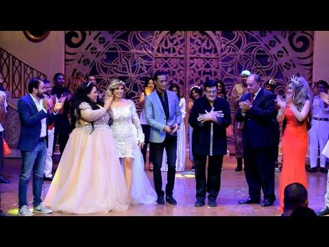 "سمير غانم يرقص مع محمد رمضان عقب نهاية ""أهلا رمضان"""