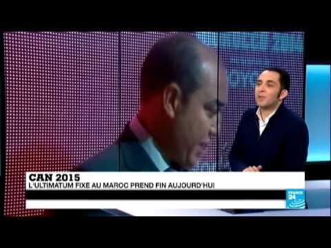 """TÉLÉ 24 LIVE: CAN 2015 – """"Tout laisse à penser que le Maroc va demander le report de la compétition"""""""
